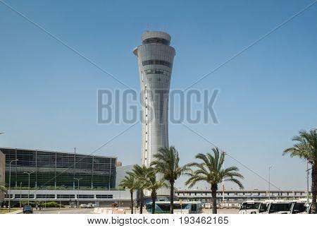 The New Ben Gurion International Airport Control Tower