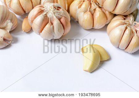 Garlic Health Food Has A Pungent Odor