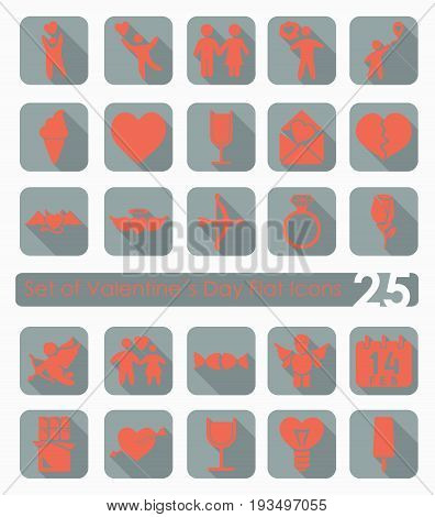 It is a Set of Valentine's Day icons
