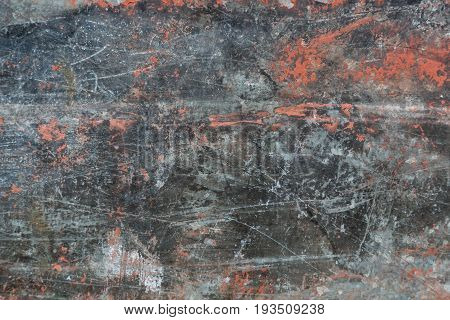Metal corroded rusty grungy texture background. Abstract background.