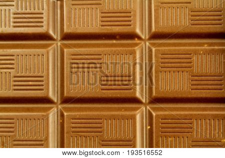 Yummy Chocolate background close up image .