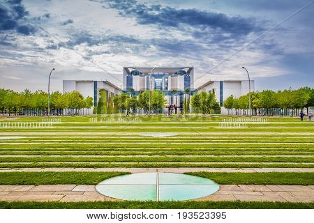 Bundeskanzleramt (german Federal Chancellery) In Berlin, Germany