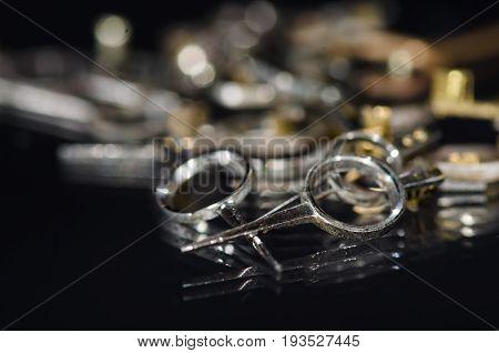 Watch Parts: Collection of Vintage Metallic Pocket Watch Regulators