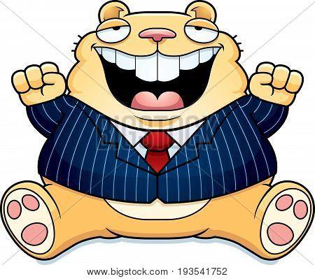 Cartoon Fat Hamster Suit