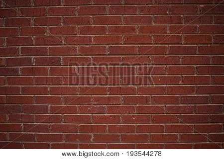 Red Brick Wall Background. Red Brick Wall Seamless Texture. Abstract Red Backdrop. Red Brickwork Wall Structure. Red Brick Wall Surface.