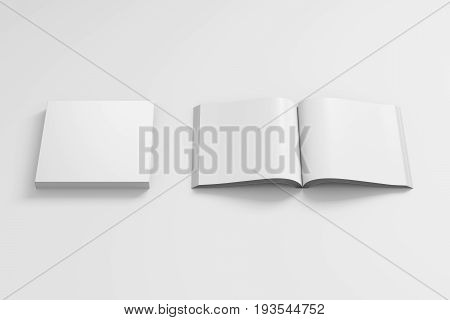 Open And Closed Soft Cover Books