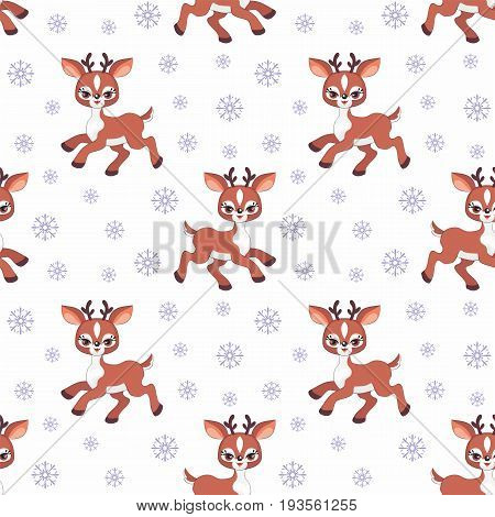 Cute Deer Pattern.eps