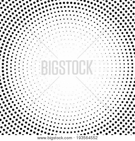Geometric modern black and white pattern. Fine ornament with dotted elements. Geometric abstract pattern