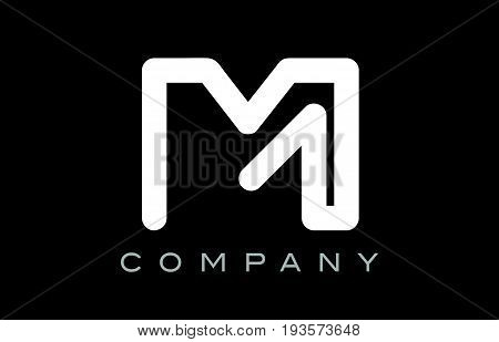 Letter M Alphabet Logo Icon Template Vector Design