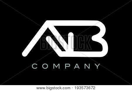Letter Ab A B Alphabet Logo Icon Template Vector Design