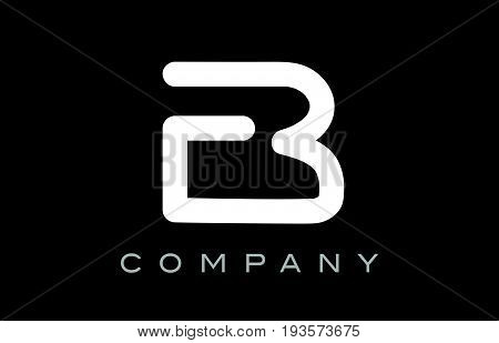 Letter B Alphabet Logo Icon Template Vector Design
