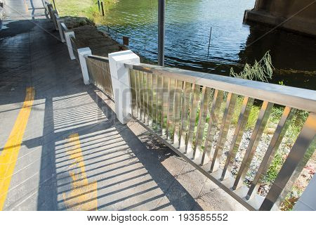Ramp Way For Support Wheelchair Disabled People