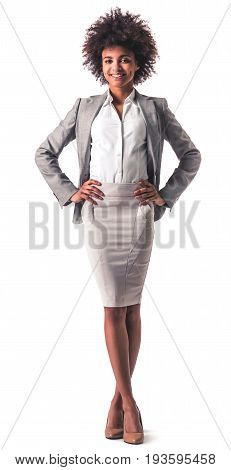 Afro American Business Woman
