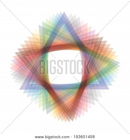 Abstract illustration with color shape for your presentation