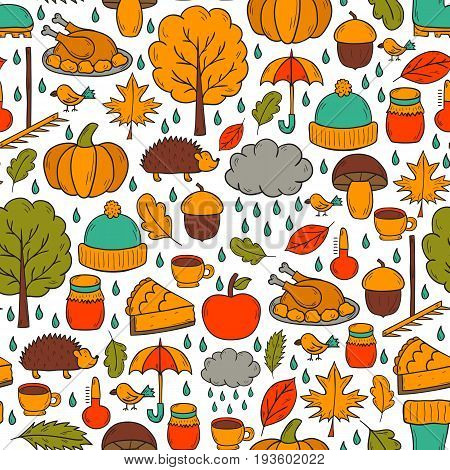 Vector Cartoon Hand Drawn Background