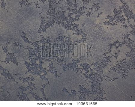 Gray blue venetian plaster background texture. Traditional venetian plaster texture grain pattern drawing. Classic stucco plaster stone texture. Gray traditional Venetian plaster wall texture