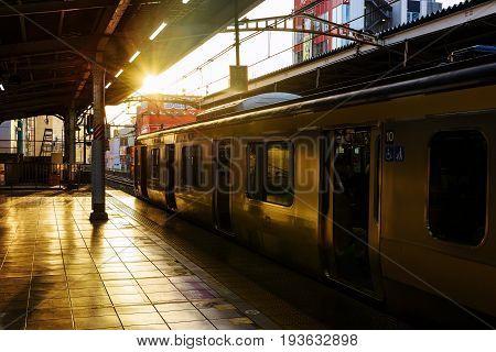 Yellow Line Jr Train, Tokyo