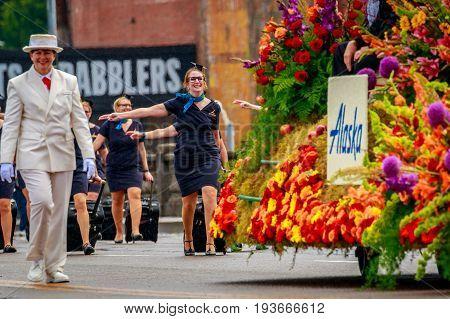 Portland Grand Floral Parade 2017
