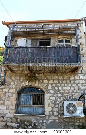 The ancient city of Safed in the north of Israel, the city of Kabbalists