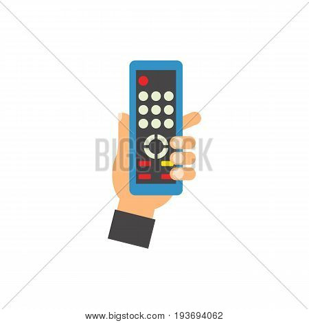 Icon of wireless remote. Watching, equipment, device. Wireless technology concept. Can be used for topics like television, entertainment or leisure