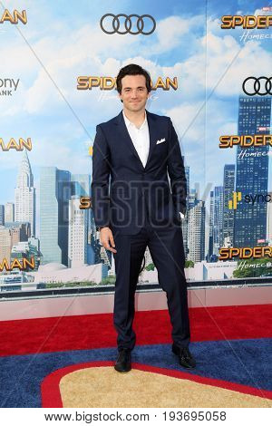 LOS ANGELES - JUN 28:  Ian Harding at the