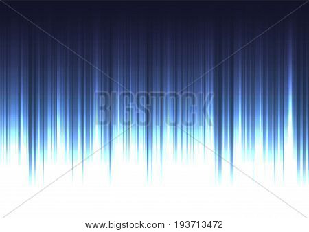 blue stream abstract line background, digital bar template, technology stream layout, vector illustration