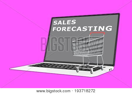 Sales Forecasting Concept