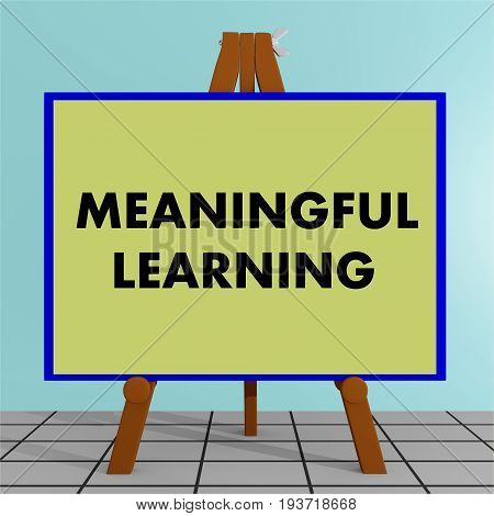 Meaningful Learning Concept
