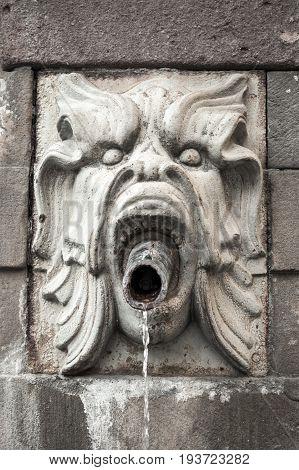 Decorative Fountain In Stockholm