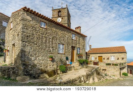 MONSANTO,PORTUGAL - MAY 16,2017 - In the streets of Monsanto village. Monsanto has become popularly known as