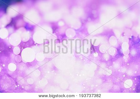 Christmas Abstract De focused . abstract texture, light bokeh background