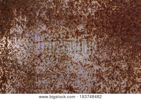 Rusty metal texture for use as background.