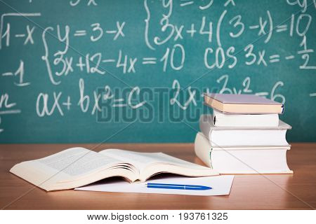 Books calculations studying learning teaching education wisdom