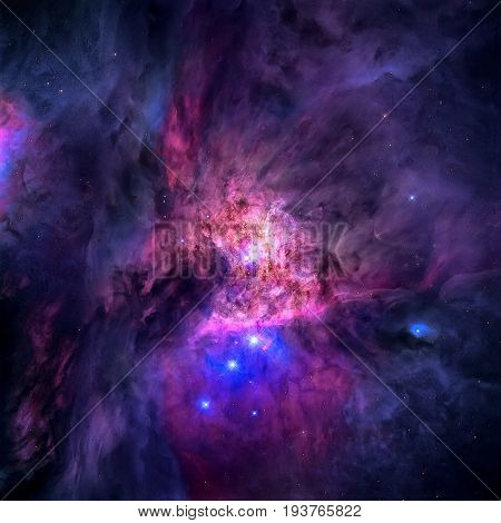 The Orion Nebula Is A Nebula In The Constellation Of Orion.