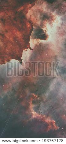 Star Birth In The Carina Nebula, Also Known As The Grand Nebula.