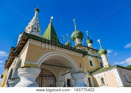 Church Of The Nativity Of John The Baptist Of The 17Th Century, Uglich, Russia