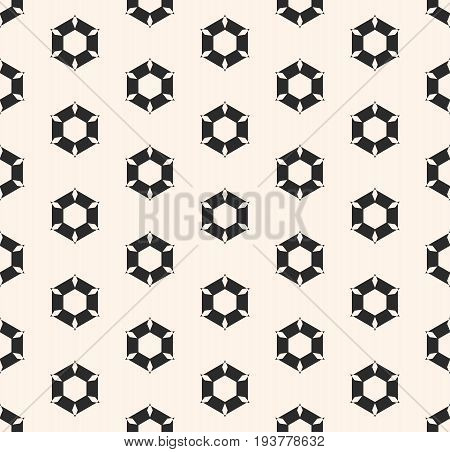 Seamless pattern. Rippled hexagonal shapes. Abstract geometric texture, monochrome illustration of perforated surface. Stylish light background. Geometrical design for prints, fabric, cloth.
