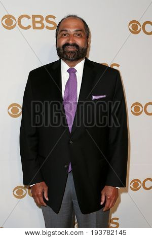 Former NFL player Franco Harris attends the 2015 CBS Upfront at The Tent at Lincoln Center on May 13, 2015 in New York City.