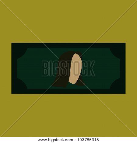 flat icon on stylish background currency cash