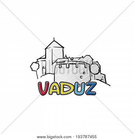 Vaduz Beautiful Sketched Icon