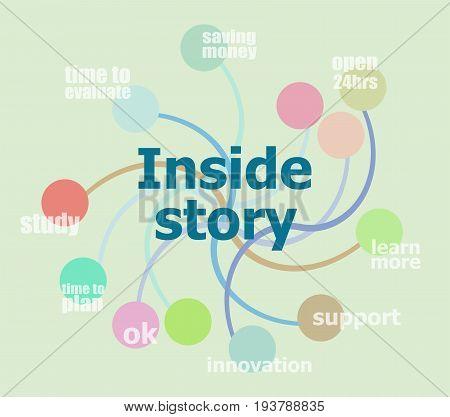 Inside Story. Business Data Visualization. Process Chart
