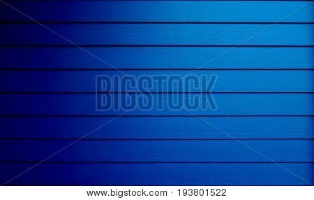 Blue surface is wooden lumber house bright color. This image for background and decoration interior concept.