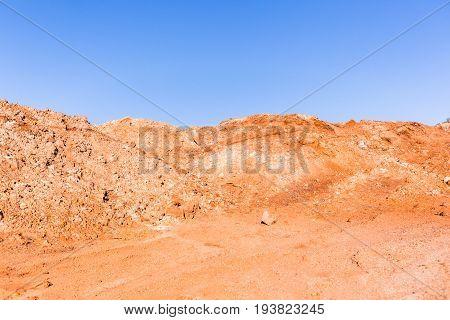 Earthworks Sand Mound