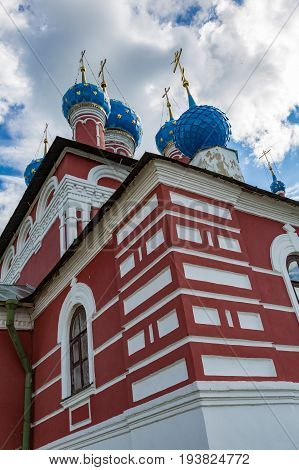 Church Of Prince Demitry The Martyr Of The 17Th Century, Uglich, Russia