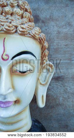 buddha head statue & Lord of Buddha statue background
