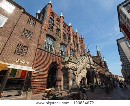 Luebeck Rathaus City Hall