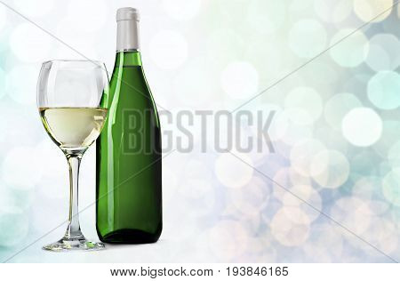 Wine bottle white wine wine bottle glass wineglass alcohol
