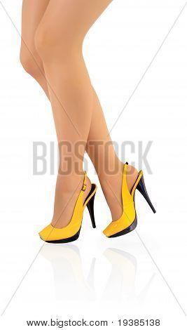 Schöne Frauen Beine