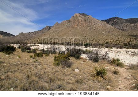 Guadalupe Mountains National Park in the State of Texas