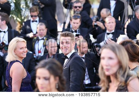 Alexey Vorobyov attends the 'Ismael's Ghosts (Les Fantomes d'Ismael)' screening and Opening Gala during the 70th annual Cannes Film Festival at Palais des Festivals on May 17, 2017 in Cannes, France.